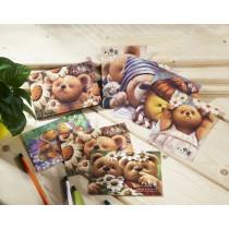 小熊明信片一組(七款)