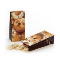 綜合口味鳳梨酥環保包裝與小熊杯墊組(玫瑰口味暫不提供)